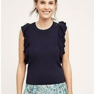 Anthropologie Knitted & Knotted Constance Pullover